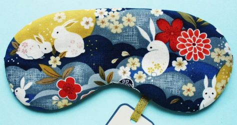 EvasEmporium – Rabbit & moon sleep mask