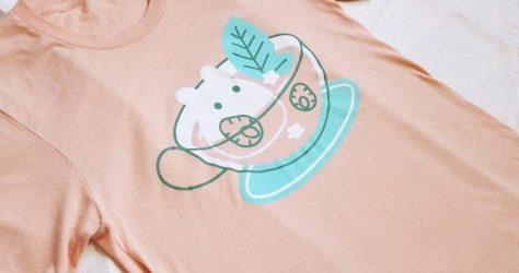 quiescentsnow – Strawbunny Mint Tea shirt