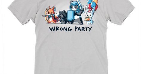 TeeTurtle – Wrong Party shirt